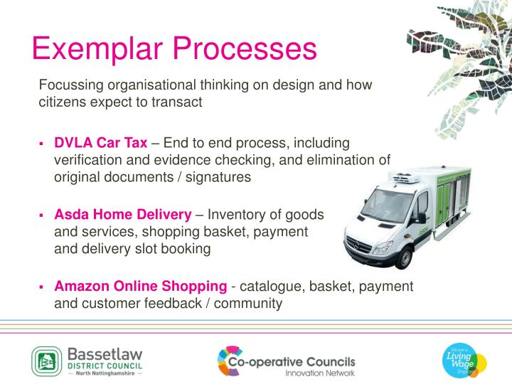 Exemplar Processes