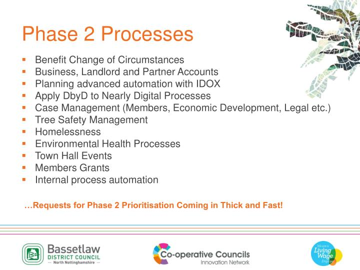 Phase 2 Processes