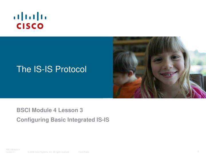 The IS-IS Protocol