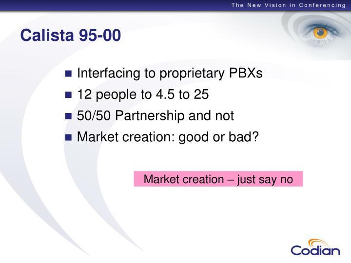 Calista 95-00