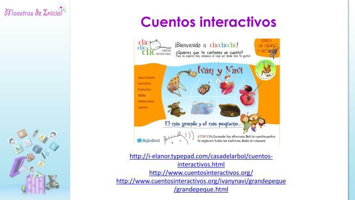 Cuentos interactivos