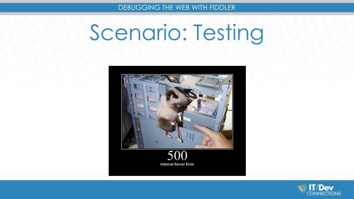 Scenario: Testing
