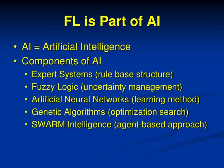 FL is Part of AI