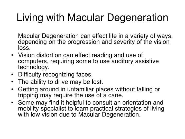 Effects Of Levitra On Macular Degeneration