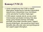 konsep cvm 2