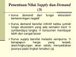 penentuan nilai supply dan demand 3