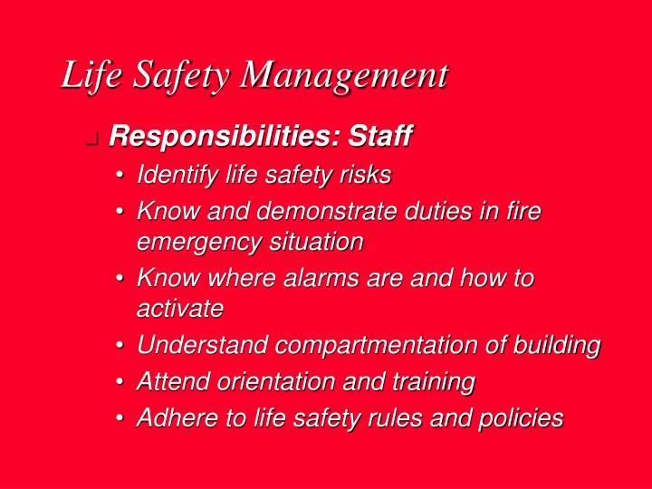Life Safety Management