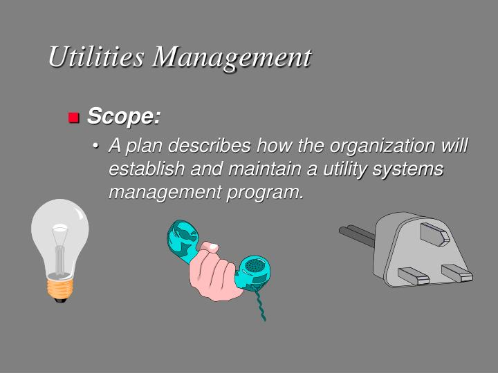 Utilities Management