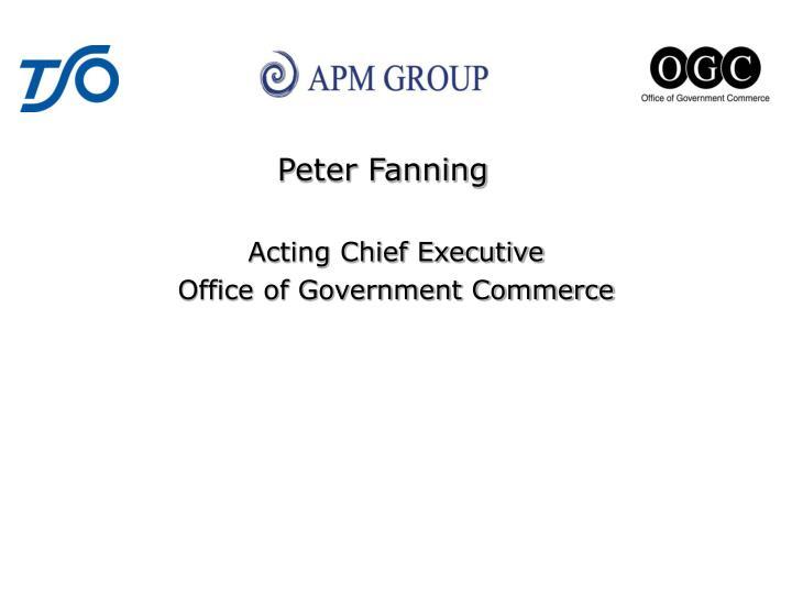 Peter Fanning
