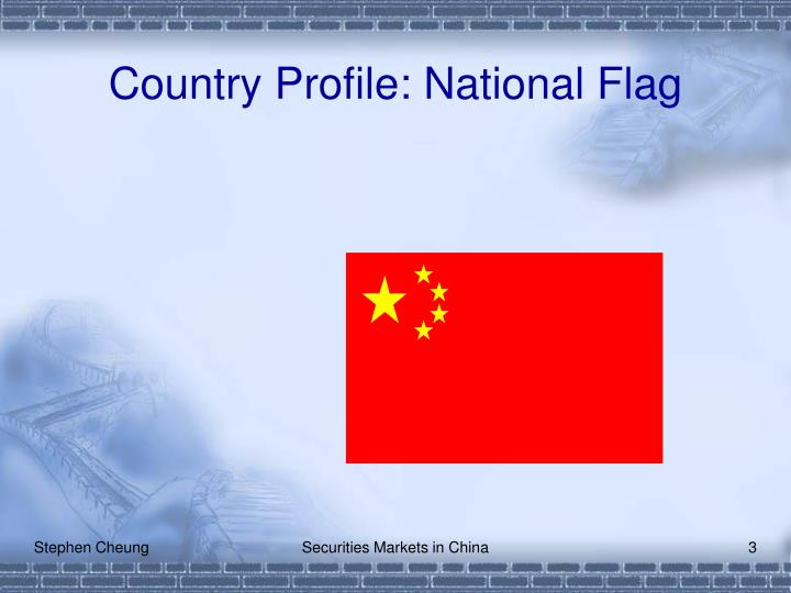 Country Profile: National Flag