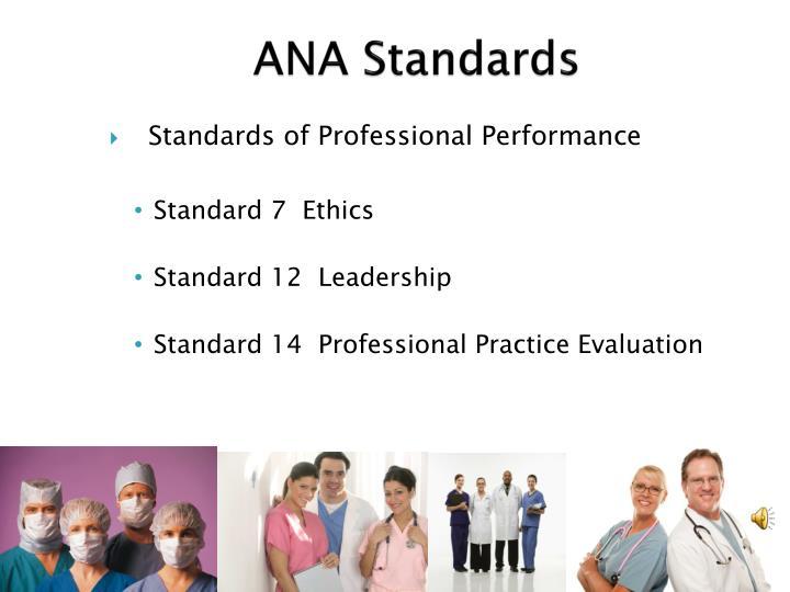 ANA Standards