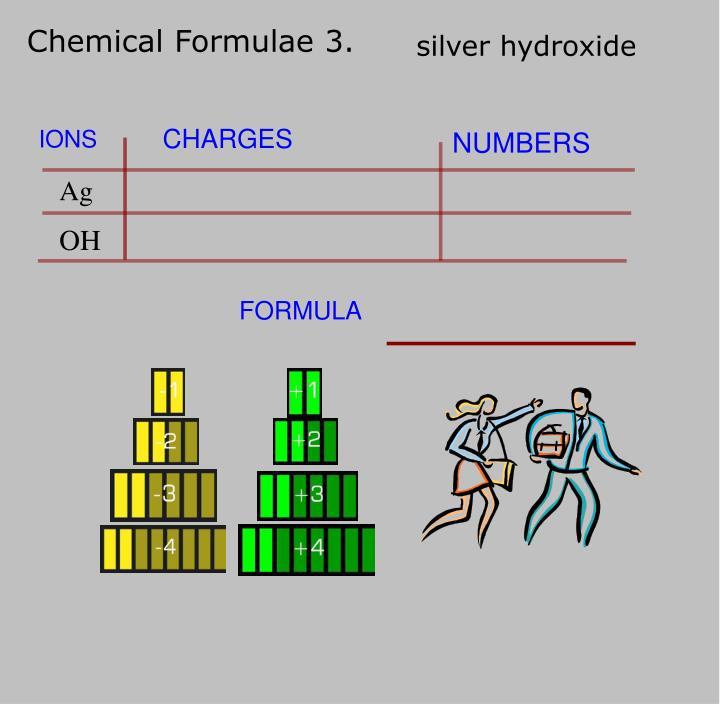 Chemical Formulae 3.