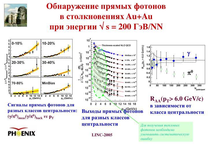 Для получения тепловых фотонов необходимо уменьшить систематическую ошибку