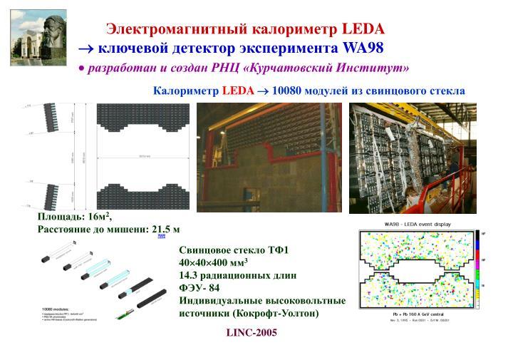 Электромагнитный калориметр