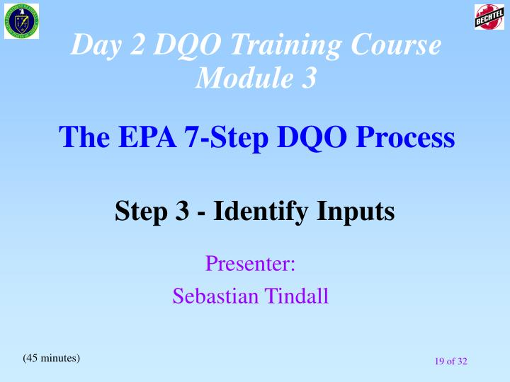 Day 2 DQO Training Course