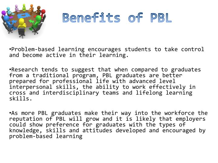 Benefits of PBL