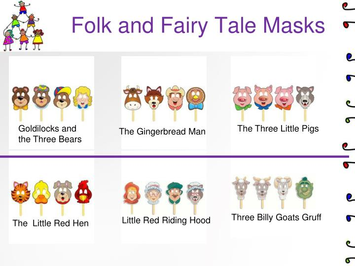 Folk and Fairy Tale Masks