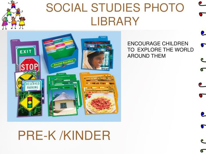 SOCIAL STUDIES PHOTO LIBRARY