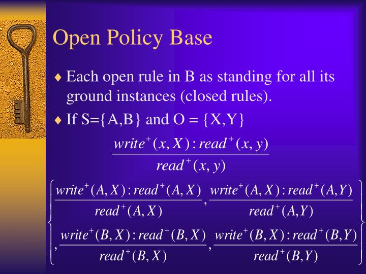 Open Policy Base