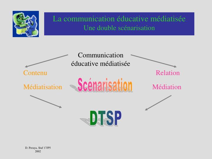 La communication éducative médiatisée