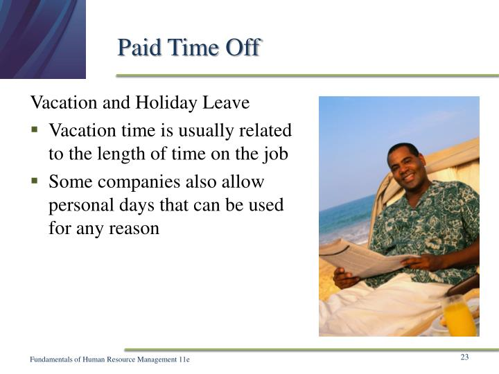 Paid Time Off
