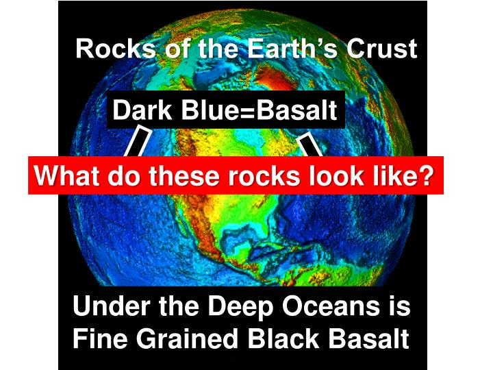 Rocks of the Earth's Crust