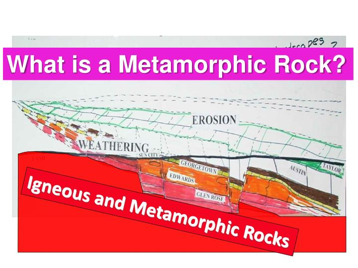 What is a Metamorphic Rock?
