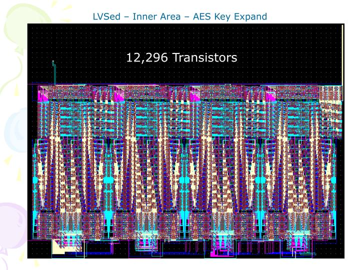 LVSed – Inner Area – AES Key Expand