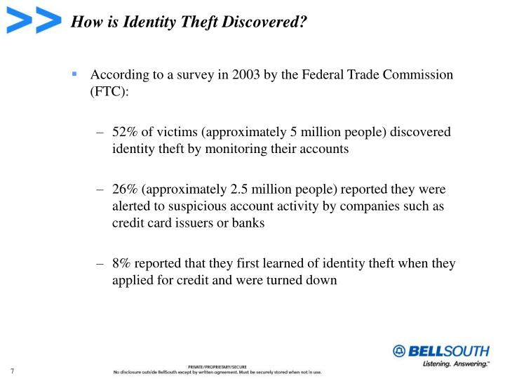 How is Identity Theft Discovered?