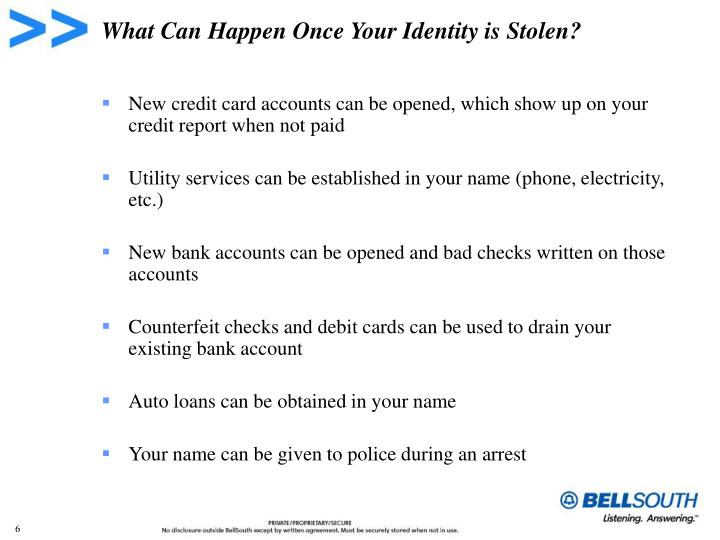 What Can Happen Once Your Identity is Stolen?