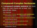 compound complex sentences1