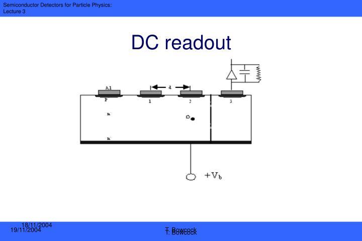 DC readout