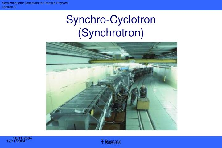 Synchro-Cyclotron