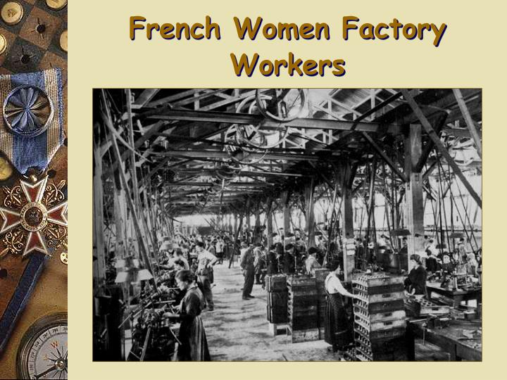 French Women Factory Workers