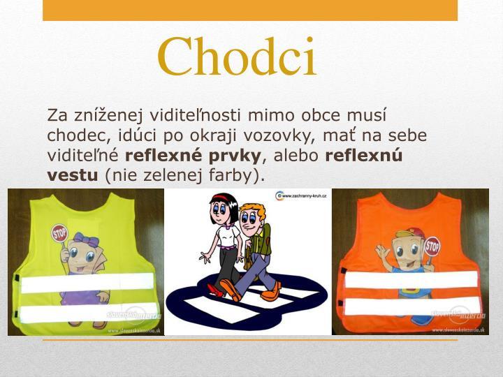 Chodci