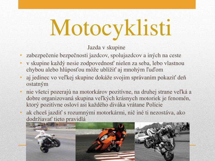 Motocyklisti