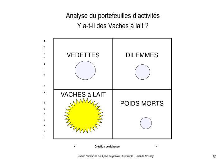 Analyse du portefeuilles d'activités