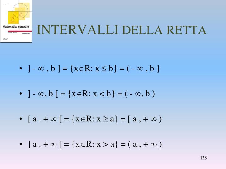 INTERVALLI