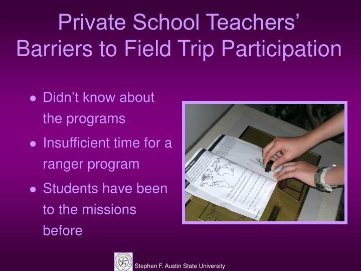 Private School Teachers'