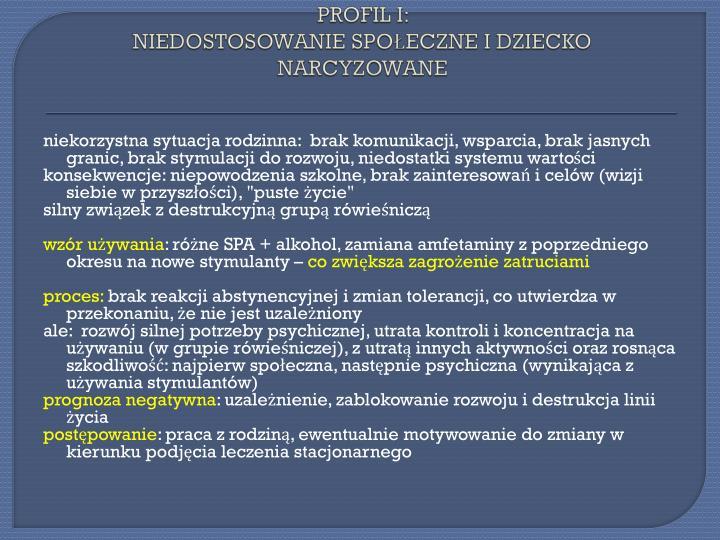 PROFIL I: