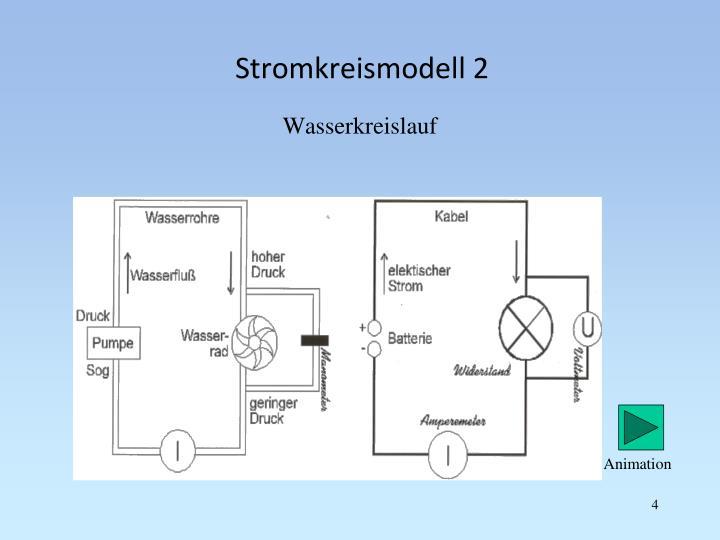 Stromkreismodell 2
