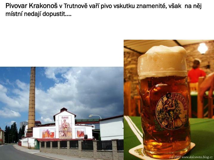Pivovar Krakonoš