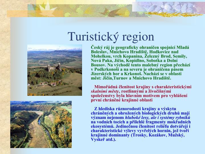 Turistick region
