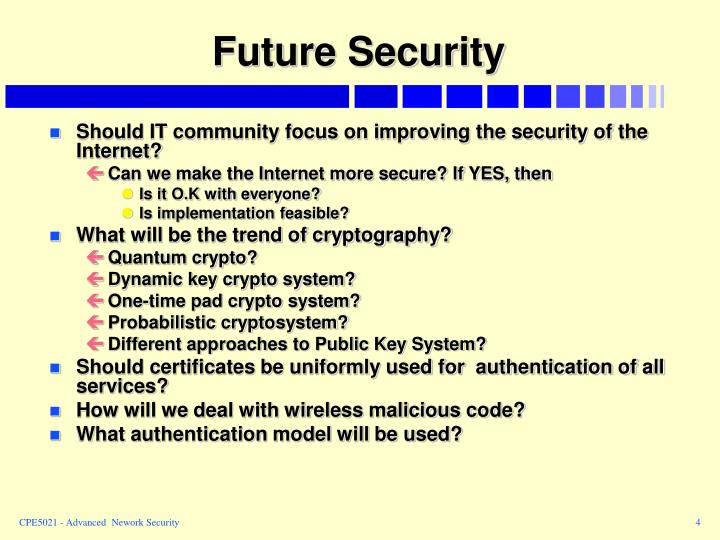Future Security