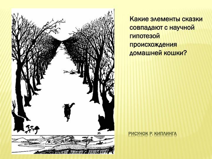 Рисунок Р. Киплинга