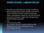 pemeriksaan laboratorium
