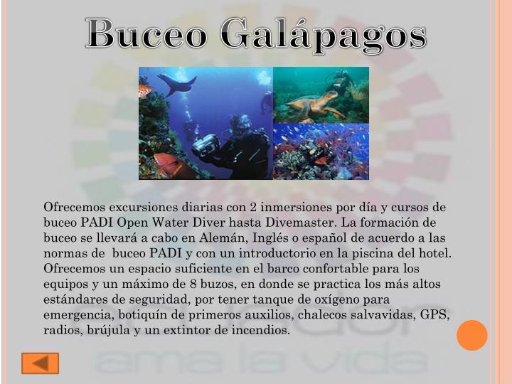 Buceo Galápagos