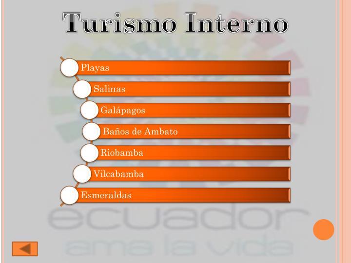Turismo Interno