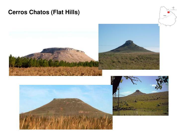 Cerros Chatos (Flat Hills)