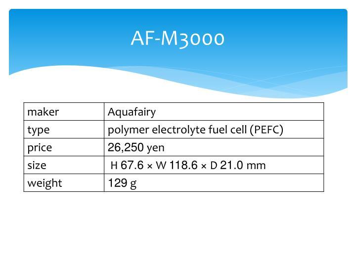 AF-M3000